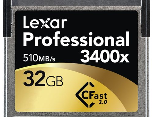 Lexar Announces A 512GB Professional 3500x CFast 2.0 Card