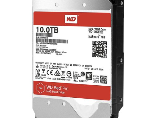 Western Digital breaches the 10 TB threshold with their new NAS drives