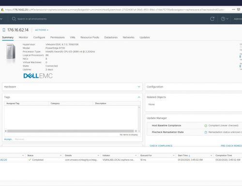 How To: Expand a VMware vSAN Cluster with a New Host