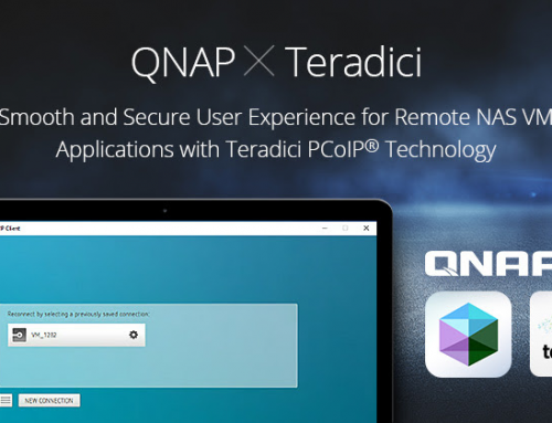 QNAP Adds Teradici PCoIP Technology