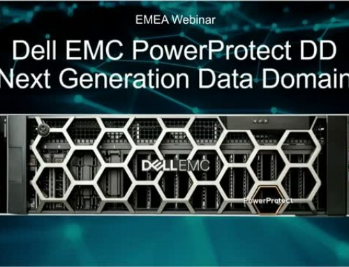 Dell EMC PowerProtect DD Upgraded With DDOS 7.2