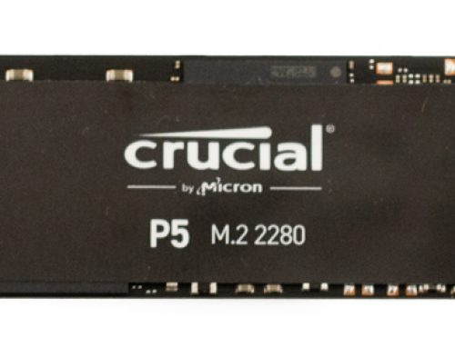 Crucial P5 SSD Review