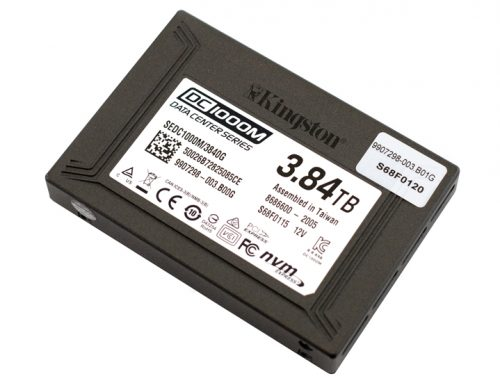 Kingston DC1000M SSD Review
