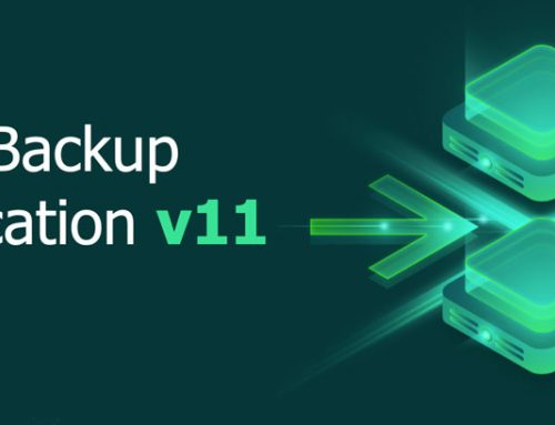 Veeam Backup & Replication v11 Released